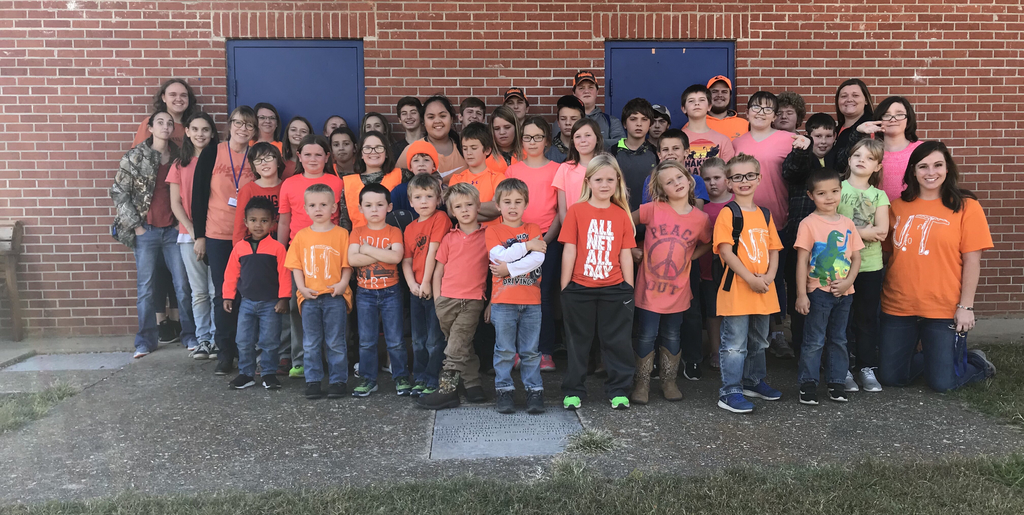 Mt. Judea students showing support for kindness