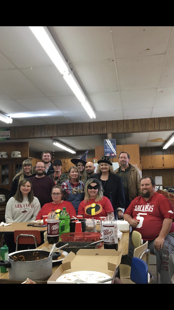 Deer High School Spooky Staff Meeting, Employee Appreciation and Monthly Birthday Celebration!