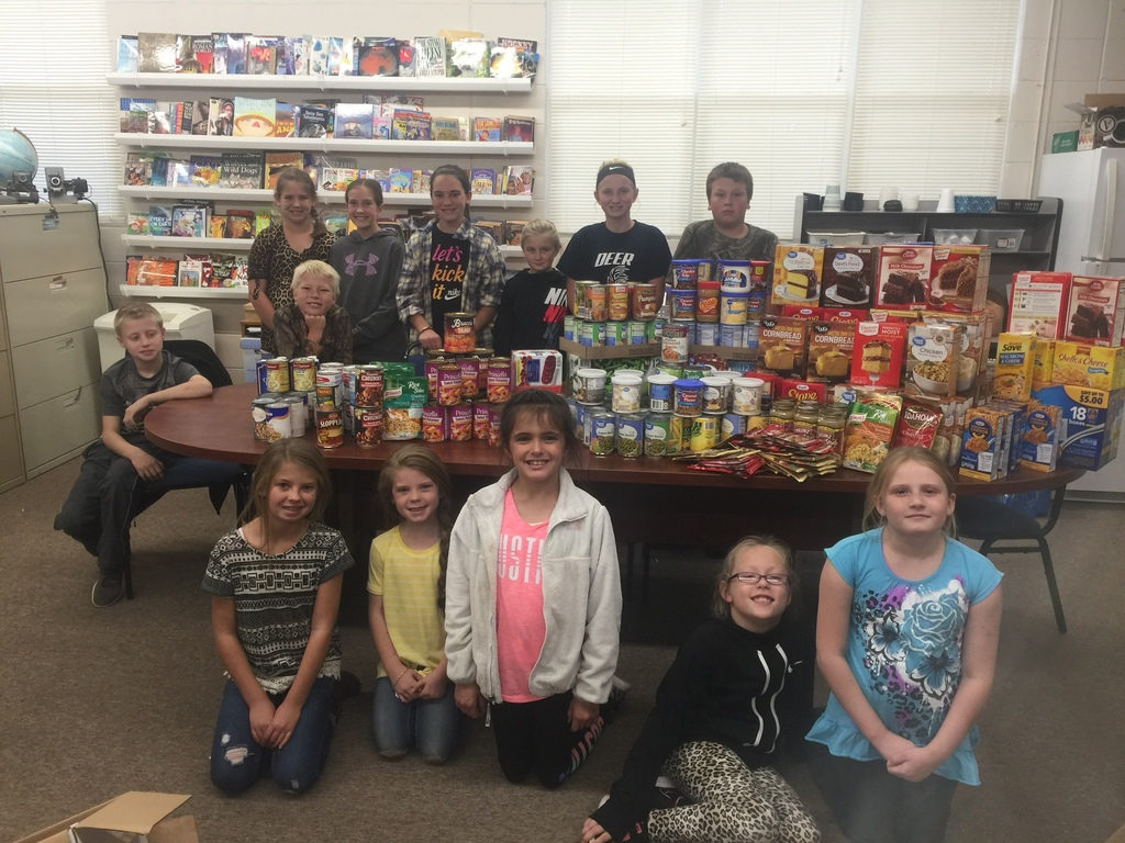 elementary food donations
